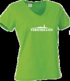T-shirt Terschelling dames | Groen_