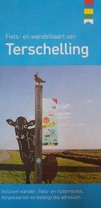 VVV Fiets- en wandelkaart van Terschelling