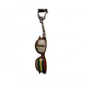 Sleutelhanger Zonnebril