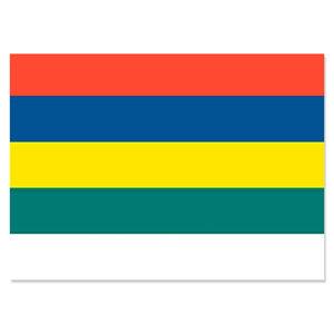 Sticker vlag (zonder tekst)