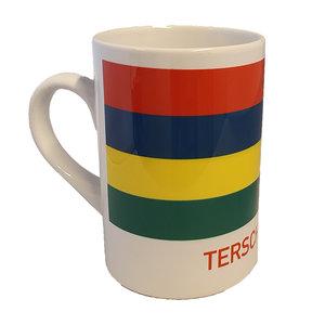 Koffiebeker vlag