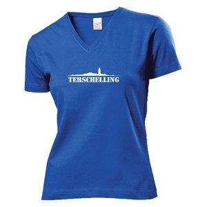 Shirt Terschelling Blauw (Dames)