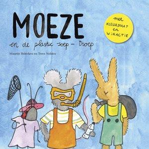 Kinderboek   Moeze en de plastic soep-troep