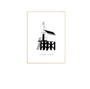 Studio Tosca poster Drenkelingenhuisje