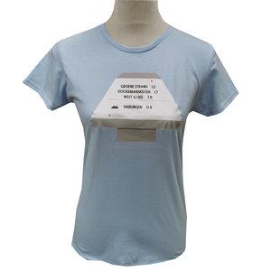 T-shirt paddenstoel | Licht blauw