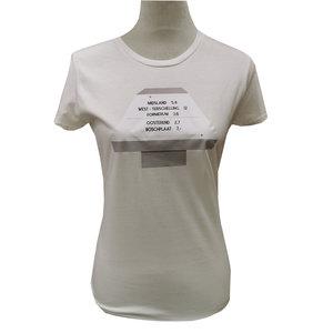 T-shirt  paddenstoel |  Wit
