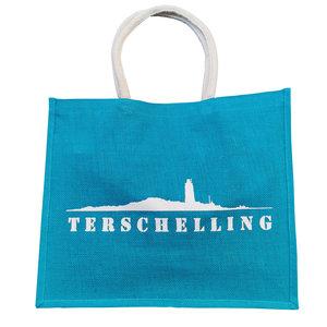 Strandtas Terschelling  | Turquoise