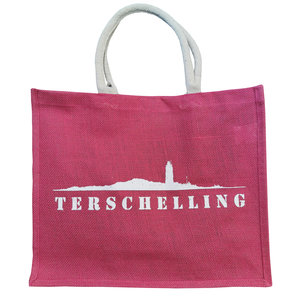 Strandtas Terschelling  | Fuchsia