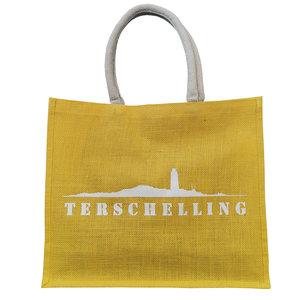 Strandtas Terschelling  | Geel