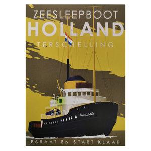 Ansichtkaart |  Zeesleepboot Holland
