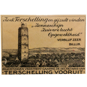 Ansichtkaart nostalgisch Terschelling