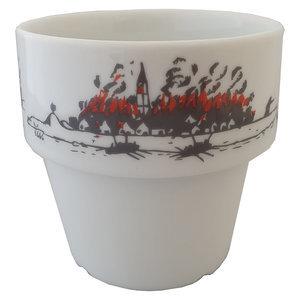 Koffiebeker |  Brand 1666 (set van 4 )