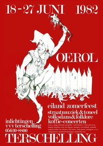 Poster Oerol 1982 Limited Edition
